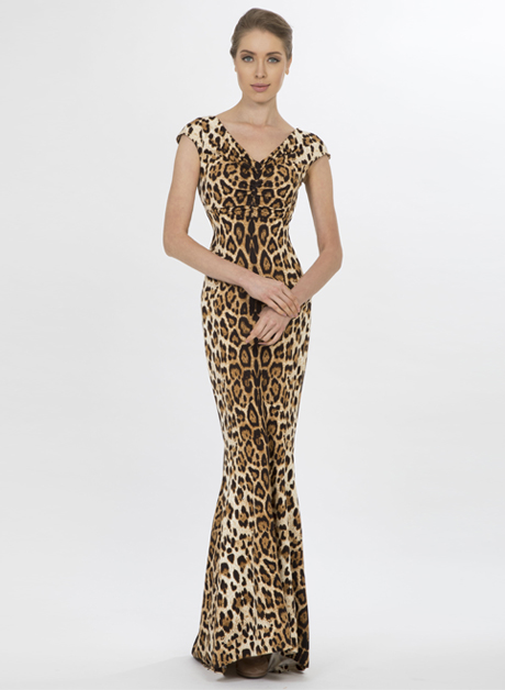 Stretch V-cut neckline cheetah - House of Hend e0a96d6f5