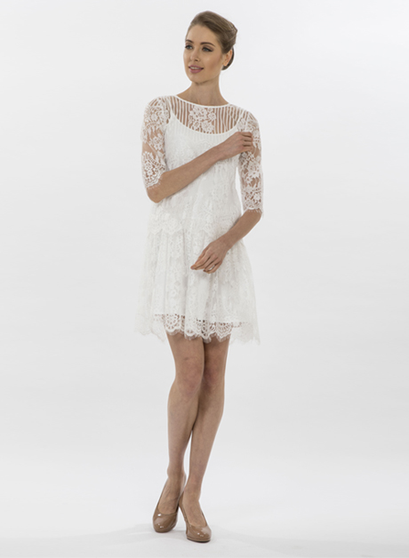 white lace short dress - House of Hend 2eb1911b0