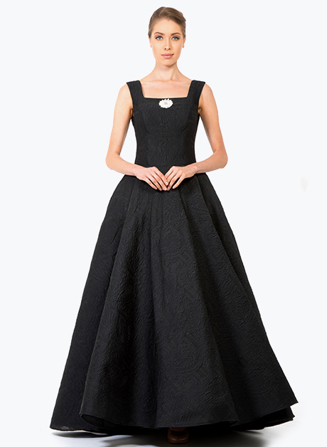 Black sleeveless long dress - House of Hend 0ee99714e